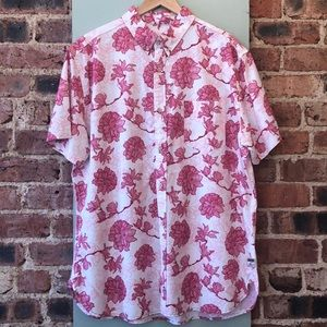 Surfside Supply Floral Button down Short Sleeve